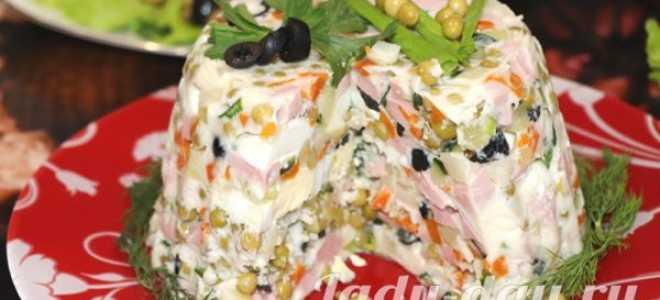 Салат оливье по новому