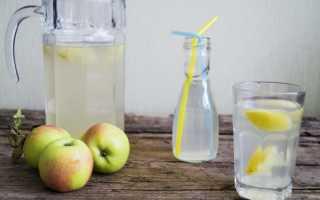 Рецепт компота из яблок в кастрюле