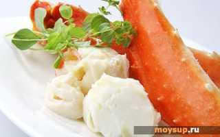 Салат из крабового мяса от юлии высоцкой