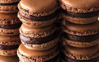 Шоколадные макаруны рецепт