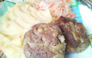Постное картофельное пюре рецепт