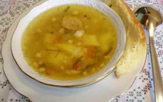 Гречневый суп рецепт со свининой
