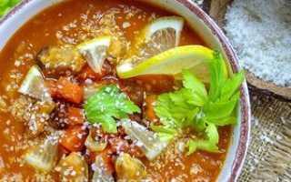 Суп с мидиями рецепт