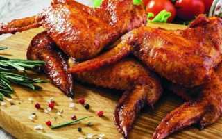 Восточный рецепт приготовления куриных крылышек с медом