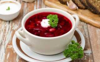 Суп из ботвы молодой свеклы