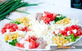 Салат мясное ассорти рецепт