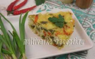 Запеканка с рыбой и овощами в духовке