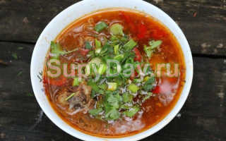 Суп из утки рецепт