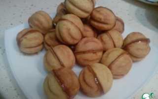 Песочное тесто для печенья орешки