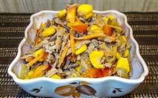 Как приготовить салат из печени свиной