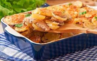 Как сделать запеченное мясо с картофелем пошагово