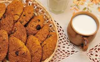 Приготовить овсяное печенье