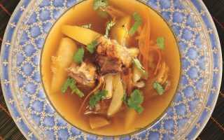 Суп из утиных крыльев