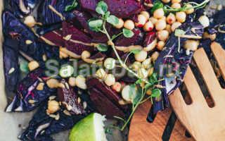 Салат свекла морковь капуста