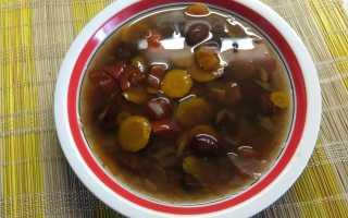 Соевый суп рецепт