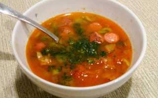 Рецепт супа солянка сборная