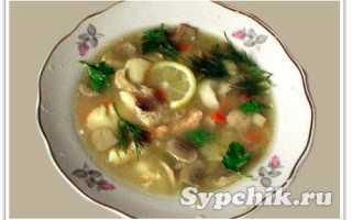 Суп по суворовски