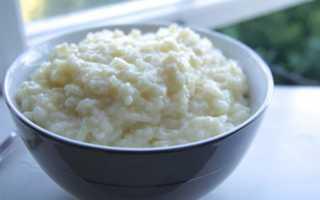 Как правильно приготовить кашу из риса