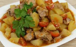 Как готовить тушеную картошку с мясом в мультиварке