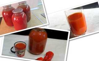 Очень вкусные рецепты томатного сока