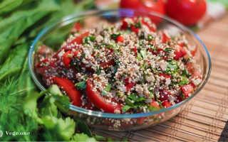 Салат с киноа и овощами рецепт