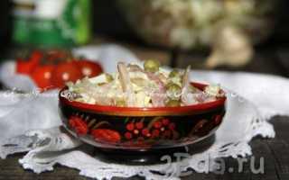 Салат с пекинской капустой и мясом