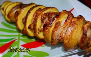 Шашлык из картошки с салом