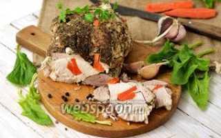 Запекание мяса в фольге в духовке