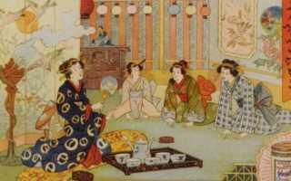 Чайная церемония в древней японии