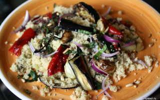 Овощной салат с кускусом