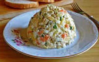 Салат столичный классический рецепт с мясом