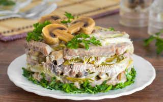Салат из языка свиного рецепт пошаговый