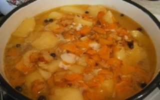 Как приготовить картофельный соус с мясом