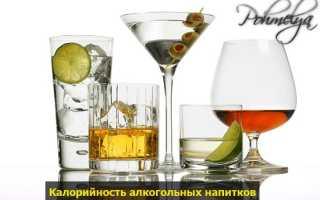 Какой спиртной напиток самый низкокалорийный