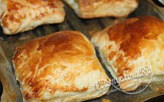 Пирожки с мясом из готового теста