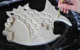 Как быстро высушить соленое тесто в микроволновке