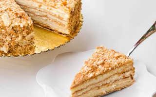 Торт наполеон из готового слоеного теста со сгущенкой
