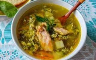 Супы с индейкой рецепты