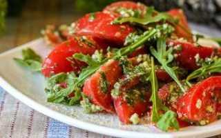Легкий овощной салатик