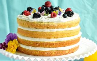 Как делать торт сметанный