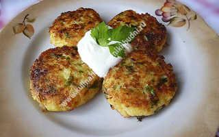 Картофельные котлеты с сыром