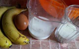 Запеканка из бананов и манки