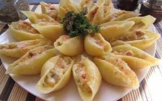 Как приготовить фаршированные макароны ракушки с фаршем