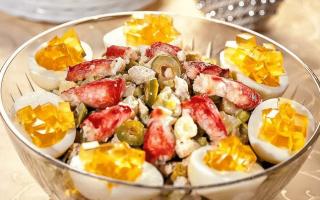 Как правильно готовить салат оливье