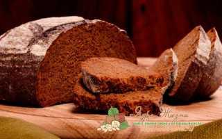 Выпечка хлеба из ржаной муки в духовке