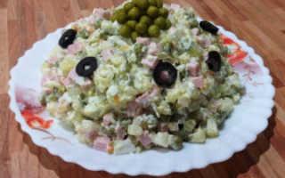 Оригинальный рецепт салата оливье