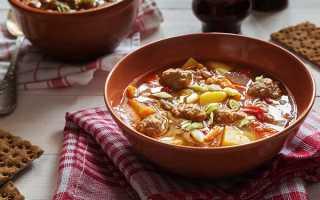 Суп из чечевицы с фрикадельками рецепт