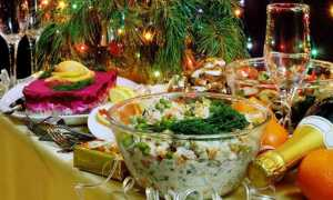 Реклама салата оливье