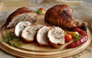 Голень куриная с начинкой рецепт
