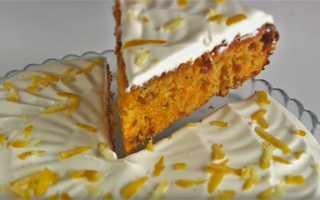 Как испечь простой и вкусный морковный пирог